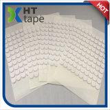 Puede modificar 3M para requisitos particulares hacen espuma pegamento de doble cara del animal doméstico del círculo del PUNTO de la esponja blanca transparente fuerte de la espuma