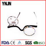 Стекла чтения Ynjn нового конструктора круглые пластичные смешные (YJ-143)