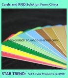 De Kaart van de Kleur van de Kaart van pvc van de magnetische Kaart Cr80