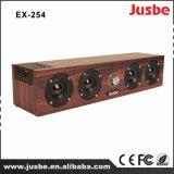Altavoz de madera del caso del precio razonable del surtidor de Ex254 China para el sitio Multi-Media