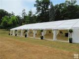 アルミ合金の結婚するイベントまたはイベントのテントのためのフレームによってカスタマイズされるサイズのテントによってはまたはテントが現れる