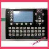 Boutons en aluminium de plaque gravant le commutateur en relief de clavier numérique de membrane