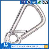 Gancho de leva del broche de presión del ojo del acero inoxidable Ss304 o Ss316