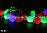 LED 크리스마스 끈 공 빛