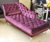 Sofa Relaxing d'accoudoir de salle de séjour avec le divan