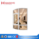 Ventana abatible de aluminio con parrilla de diseño exterior / interior de Villa Casa de lujo