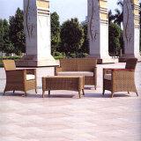 Insieme esterno del sofà della presidenza del patio del tessuto del rattan di svago della mobilia dell'hotel del giardino