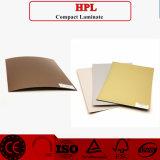 Hojas del laminado de la alta presión de HPL en el fabricante común
