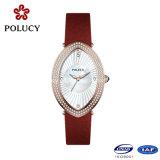 De dames stellen zich Recentste Polshorloges voor het Horloge van de Hand van het Kwarts van de Douane van Meisjes voor