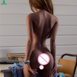 Poupée grandeur nature de sexe de silicones de plein sein de corps de type japonais petit