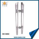 Het Handvat van de Deur van het Glas van het Kristal van het Handvat van de Trekkracht van het roestvrij staal (dh-6002)