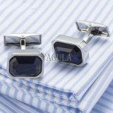Collegamenti di polsino francesi di Zircon di Gemelos del regalo di cerimonia nuziale dei gemelli degli uomini di cristallo di VAGULA 519