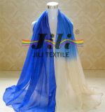 Nuova sciarpa 100% di Hijab della moltitudine del poliestere di conteggio del filato di modo 80s