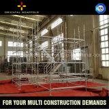 Einfach Kwikstage Typen des Stahlbaugerüstes für Aufbau installieren