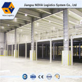 Lager-Hochleistungsindustrielles Stahlmezzanin vom Nova