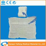 Spugna lavata chirurgica del giro del cotone ISO13485 & del Ce
