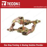 La gota británica del andamio de la construcción del estilo de la alta calidad de Tecon forjó el acoplador doble