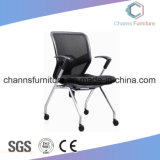 Hot Selling Metal Office Furniture Chair en cuir noir