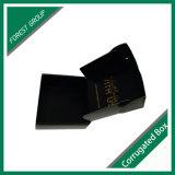 Le cadre noir de clinquant d'or de cadre de papier avec le clinquant fait sur commande a estampé pour l'expédition