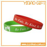 Bracelet coloré fait sur commande en gros de bracelet de silicones pour la promotion