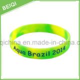 Populäres preiswertes Preis-Sport-Silikon-Handgelenk-Band-/Silicone-Armband