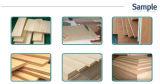 木製の滑走表はパネルが木製の切断については機械を見たことを見た