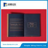 Impresión negra del libro de fotos