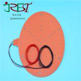 12V 120V 220V flexible Silikon-Gummi-Heizungs-industrielle elektrische Heizungs-Auflage mit dem 3m Kleber