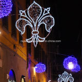 Illuminazione di festa della via di idee della decorazione di natale dell'indicatore luminoso di natale del LED