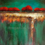 Pintura al óleo abstracta del arte (ZH3219)