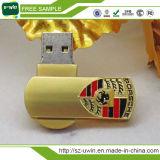 Mini bastone del USB della parte girevole del metallo dei punti promozionali