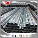 La ISO de ASTM A36 certifica el tubo y los tubos de acero galvanizados para los materiales de construcción