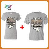 De alta calidad de promoción personalizada de manga corta camiseta impresa Jam20