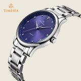 Mens-Sport-Uhr mit Edelstahl-Band-wasserdichtem Armbanduhr-Geschenk 72359