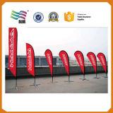 флаги плаката падения разрыва размера 5.6m напечатанные таможней для рекламировать