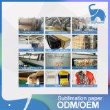 Carta da trasporto termico asciutta veloce per sublimazione su ordinazione