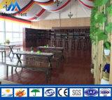 Tenda bianca di evento del partito del blocco per grafici della parete di vetro del baldacchino per il ristorante