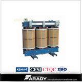 Transformator 100kVA van de Fase van Type drie van SG de Droge