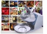 Industrieller Edelstahl-elektrische manuelle Eis-Zerkleinerungsmaschine
