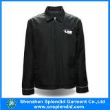 Куртка бомбардировщика людей лыжи зимы куртки ткани Китая черная Оксфорд