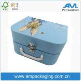 Venta al por mayor de empaquetado del rectángulo del embalaje de té del conjunto del regalo de papel de lujo de lujo de la taza