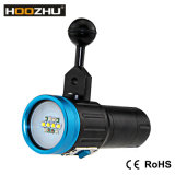 Hoozhu Buceo Equipos Max 2600 Lm Light Blue Diving Luz de vídeo LED V13 con Five Luz