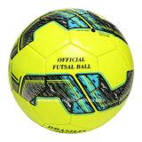 新しいデザインカスタムロゴの光沢のあるFutsalのサッカーボール