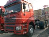 Verwendeter zweite HandShacman Traktor-Kopf-LKW 380HP für Verkauf