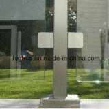 Abrazadera de cristal para la barandilla de cristal del pasamano con el poste redondo