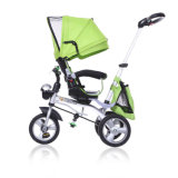 El triciclo 2016 del caminante del bebé 4 en 1 asiento/barato del triciclo de Trike/de niño embroma a cabritos Trike elegante del triciclo