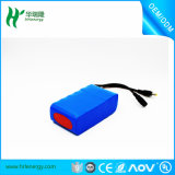 Pack batterie profond d'ion du cycle 6600mAh 11.1V Li