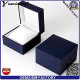 Yxl-157 Nuevo estilo promocional de la caja de reloj del OEM Logo Venta al por mayor buena calidad de la fábrica de la caja de embalaje de papel de Leathr