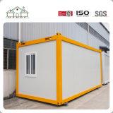 Chambre extensible préfabriquée blanche ou jaune flexible sèche de conteneur