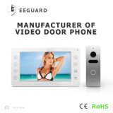 Interphone домашней обеспеченностью 7 дюймов системы внутренней связи телефона двери дверного звонока видео-